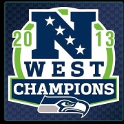 Seahawks West Champs